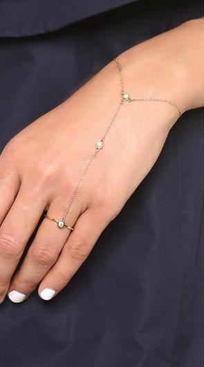 Rebecca Minkoff hand chain