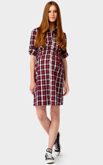 Rosie Pope maternity shirtdress