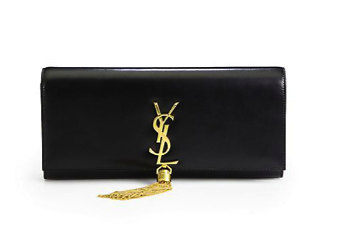 Saint Laurent tassel clutch