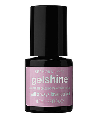 Sephora by OPI gelshine gel colour