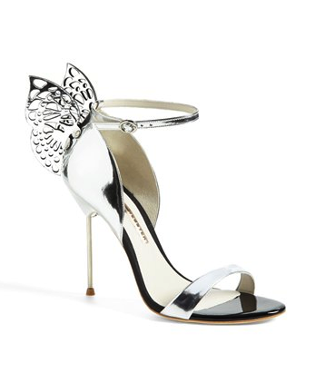 Sophia Webster silver sandal
