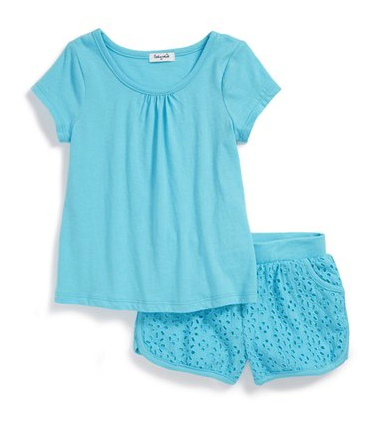 Splendid shorts and tee set