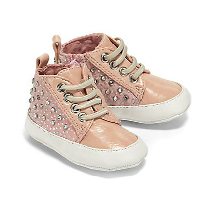 Stuart Weitzman infant hi-tops