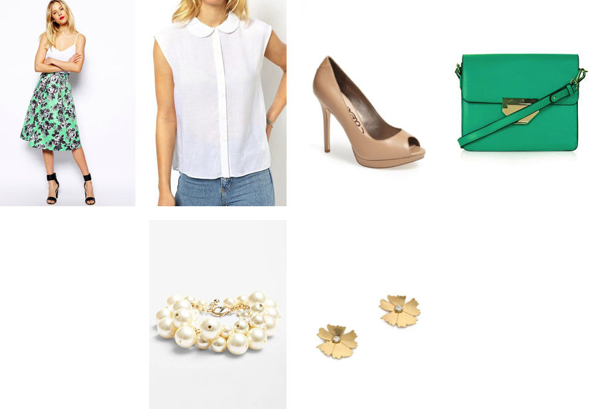 How to wear the ladylike look from desk to date for under $100