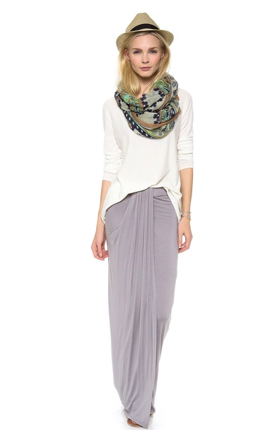Three Dots maxi skirt