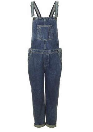 Topshop maternity overalls