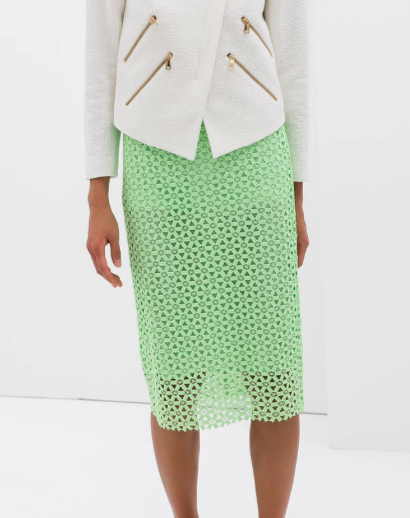Zara pencil skirt