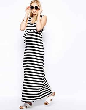 New Look maternity maxi dress