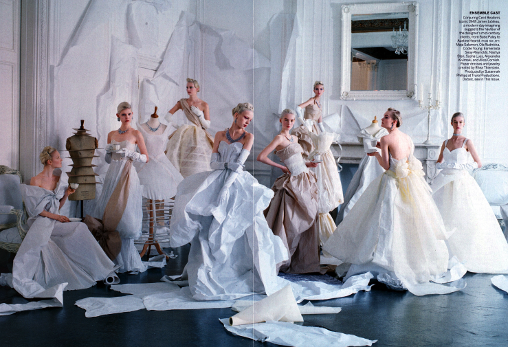 Tim Walker for Vogue - a tribute to Charles James