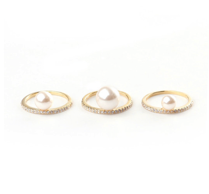 Rue Gembon trio of rings