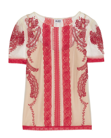 Alice by Temperley top