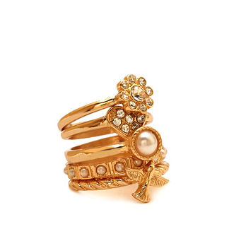 Forever 21 stackable ring set