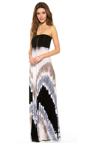 Young Fabulous & Broke convertible maxi dress/skirt