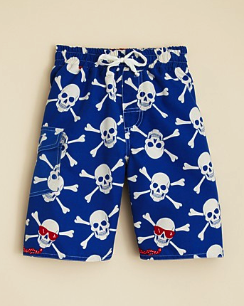 Wes & Willy swim trunks