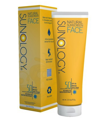 Sunology natural sunscreen for face