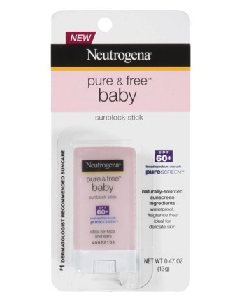 Neutrogena sunscreen stick