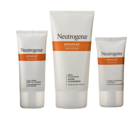 Neutrogena acne therapy kit