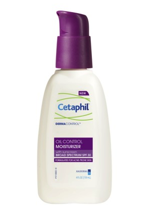 Cetaphil oil control moisturizer with SPF