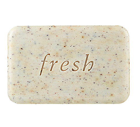 Fresh exfoliating soap