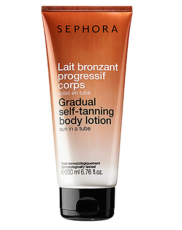 Sephora gradual self tanning body lotion