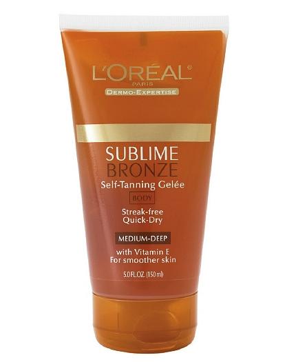 L'Oreal self tanning gel