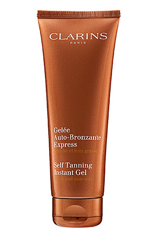 Clarins face self tanner