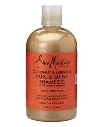 Shea Moisture curl and shine shampoo