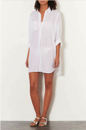 Topshop beach shirt