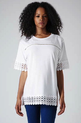 Topshop maternity top