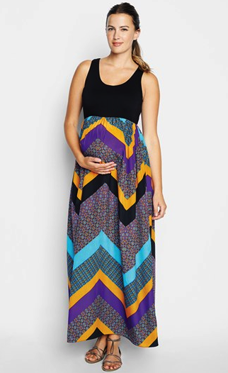 Maternal America maternity dress