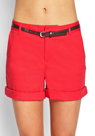Forever 21 chino shorts