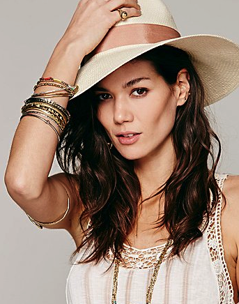 Free People panama hat