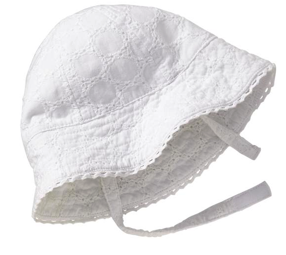 Old Navy baby bonnet