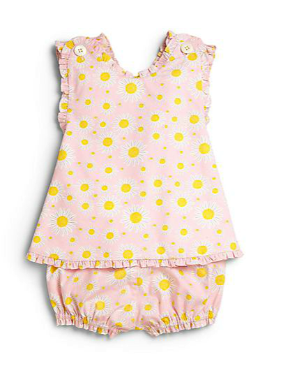 Baby CZ dress and bloomers set