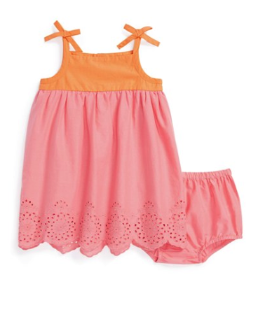 Tucker + Tate dress and bloomers set