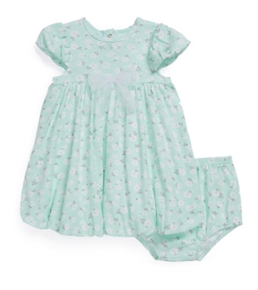 Little Me dress and bloomers