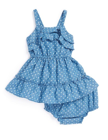 Sweet Heart Rose dress and bloomers