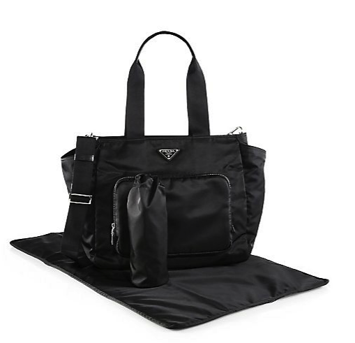 Prada diaper bag