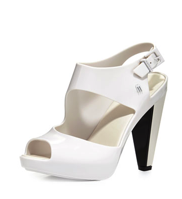 Melissa Shoes jelly platform