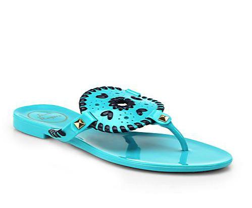 Jack Rogers jelly sandal