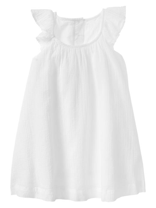 Gap little white dress