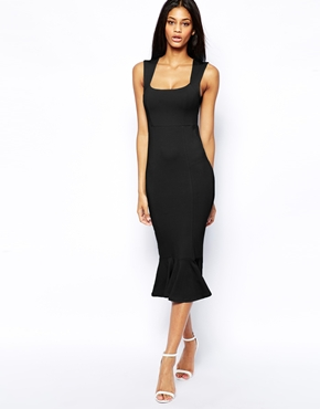 Asos summer little black dress