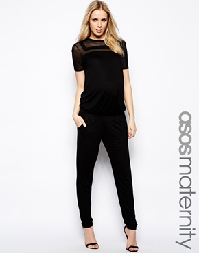 Asos maternity jumpsuit - best maternity style