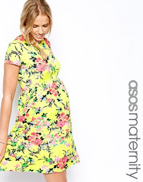 Asos maternity dress best maternity style