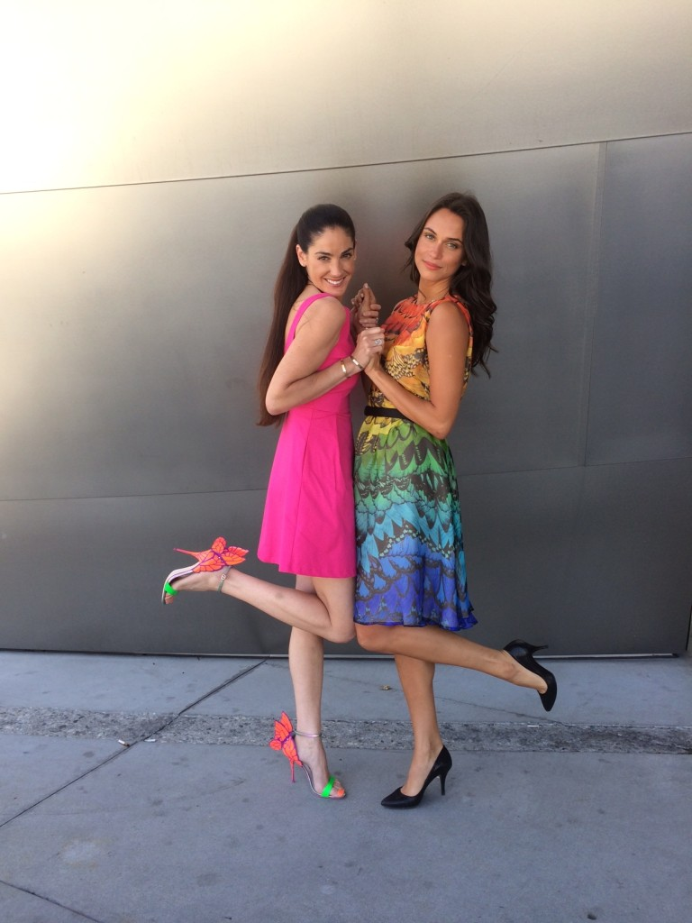 Maria Divaris and Asha Leo summer dresses