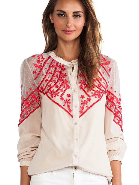 Alice by Temperley blouse