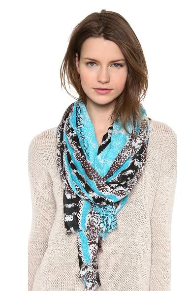 Diane von Fursteneberg scarf