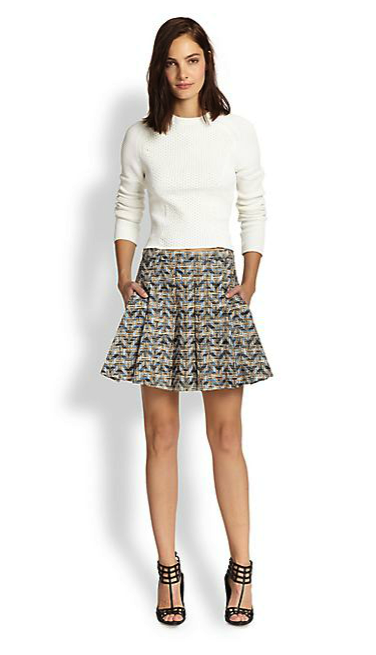 10 Crosby Derek Lam skirt