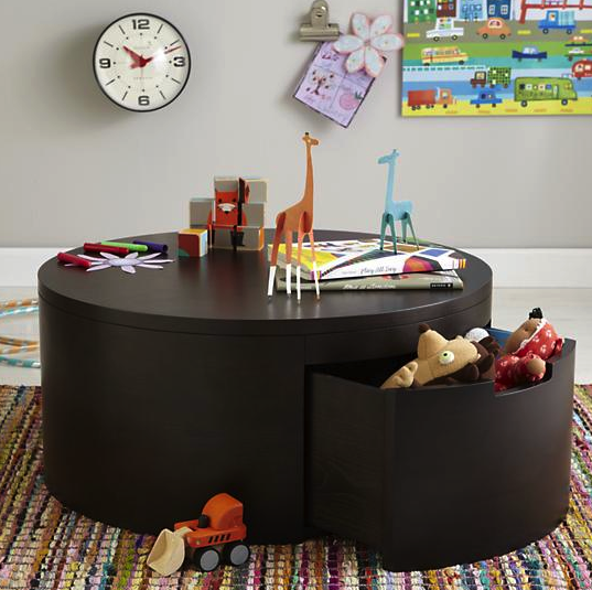 Land of Nod coffee/play table - more storage