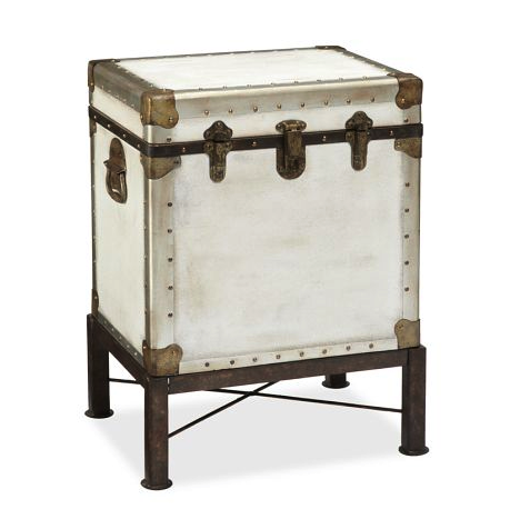 Pottery Barn ludlow trunk side table